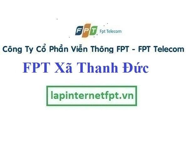 Lắp Đặt Mạng FPT Xã Thanh Đức Huyện Long Hồ Vĩnh Long
