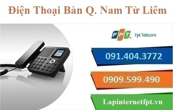 Lắp Đặt Điện Thoại Bàn FPT Quận Nam Từ Liêm Tại TP. Hà Nội