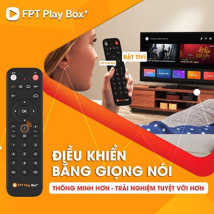 Thông tin về tính năng Voice Remote trên FPT Play Box