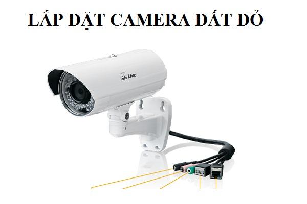 Lắp Đặt Camera Đất Đỏ