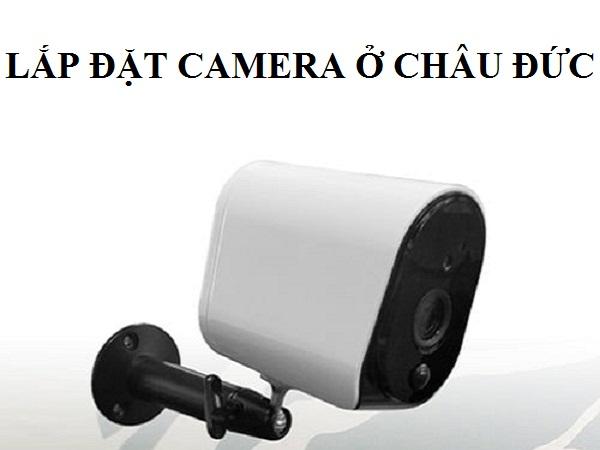Lắp đặt camera ở châu đức