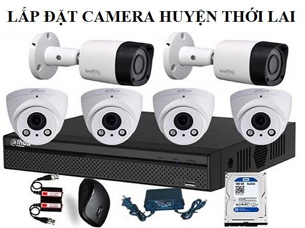 Lắp đặt camera huyện Thới Lai