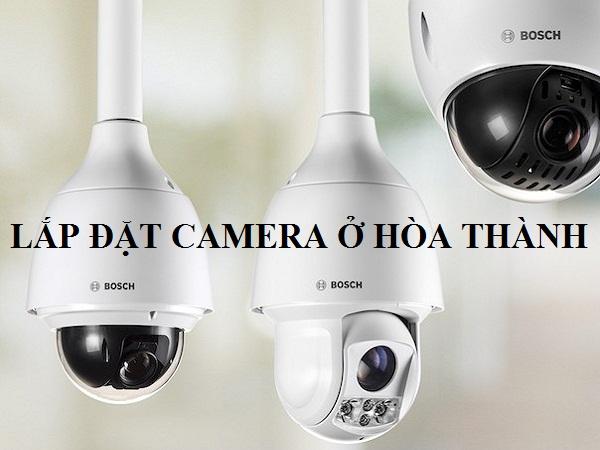 Lắp đặt camera ở Hòa Thành
