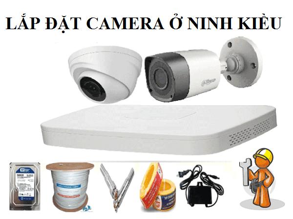 Lắp đặt camera ở Ninh Kiều