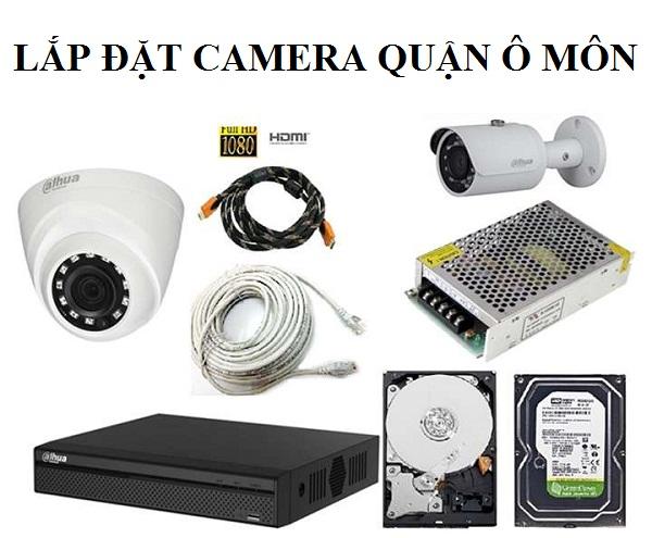 Lắp đặt camera Quận Ô Môn
