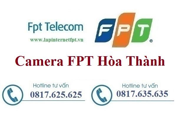 Lắp đặt camera ở tại huyện Hòa Thành
