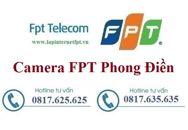 Lắp đặt camera ở tại huyện Phong Điền