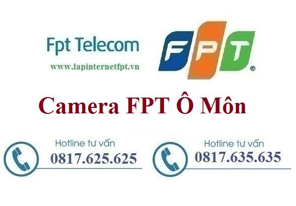 Lắp đặt camera ở tại quận Ô Môn