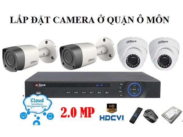 Lắp đặt camera ở quận Ô Môn