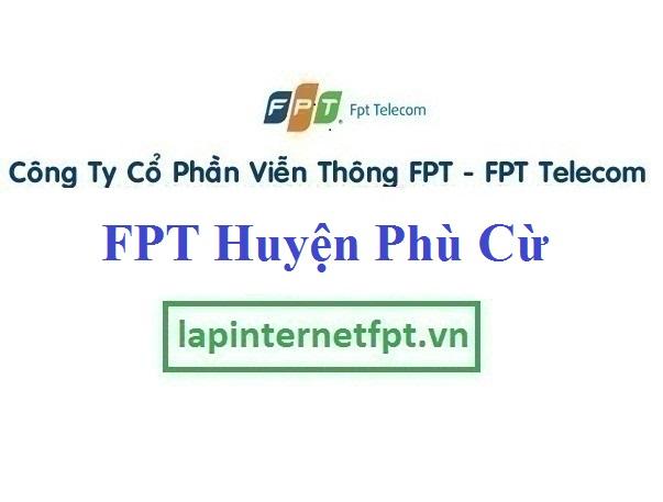 Lắp Đặt Mạng FPT Huyện Phù Cừ Tỉnh Hưng Yên