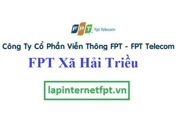 Lắp Đặt Mạng FPT xã Hải Triều tại Tiên Lữ tỉnh Hưng Yên