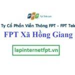 Lắp Đặt Mạng FPT Xã Hồng Giang Tại Đông Hưng Thái Bình
