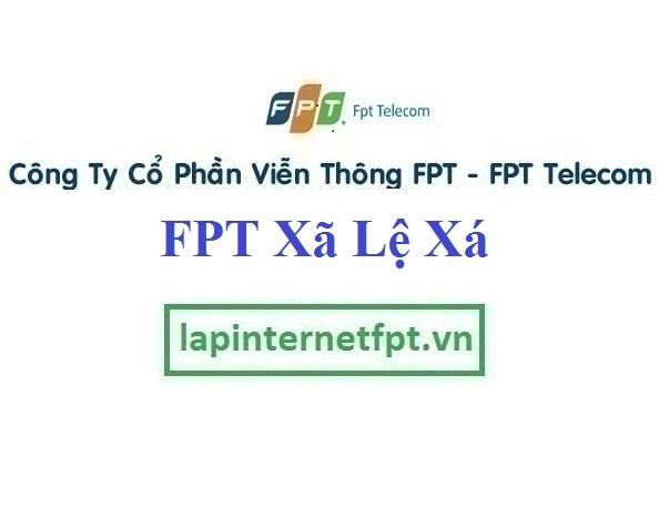 Lắp Đặt Mạng FPT xã Lệ Xá tại Tiên Lữ tỉnh Hưng Yên