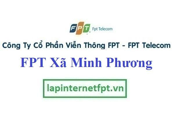 Lắp Đặt Mạng FPT xã Minh Phương tại Tiên Lữ tỉnh Hưng Yên