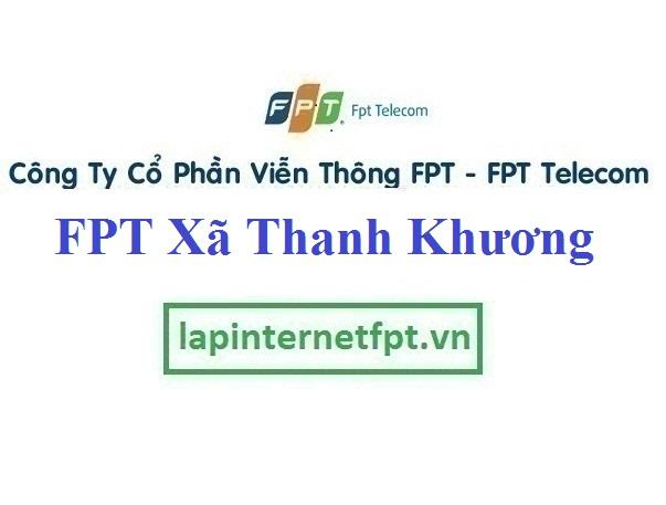 Lắp Đặt Mạng FPT Xã Thanh Khương Tại Thuận Thành Tỉnh Bắc Ninh