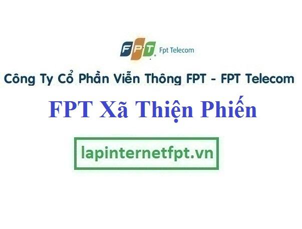 Lắp Đặt Mạng FPT xã Thiện Phiến tại Tiên Lữ tỉnh Hưng Yên