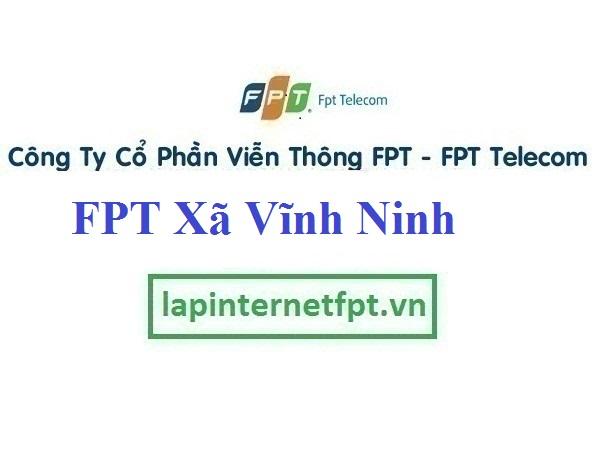 Lắp Đặt Mạng FPT xã Vĩnh Ninh tại Vĩnh Tường tỉnh Vĩnh Phúc
