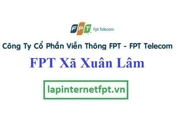Lắp Đặt Mạng FPT Xã Xuân Lâm Tại Thuận Thành Tỉnh Bắc Ninh