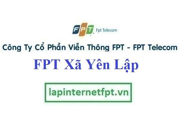 Lắp Đặt Mạng FPT xã Yên Lập tại Vĩnh Tường tỉnh Vĩnh Phúc