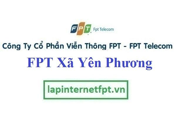Lắp Đặt Mạng FPT xã Yên Phương tại Yên Lạc tỉnh Vĩnh Phúc
