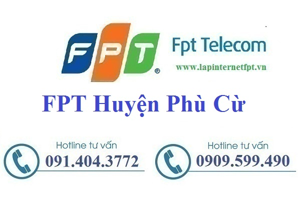 Đăng Ký Cáp Quang FPT Huyện Phù Cừ