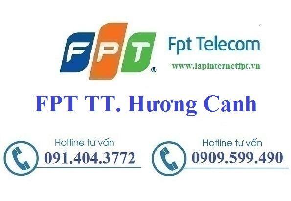 Đăng Ký Cáp Quang FPT Thị Trấn Hương Canh