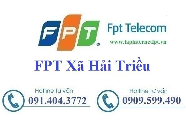 Đăng ký cáp quang FPT Xã Hải Triều