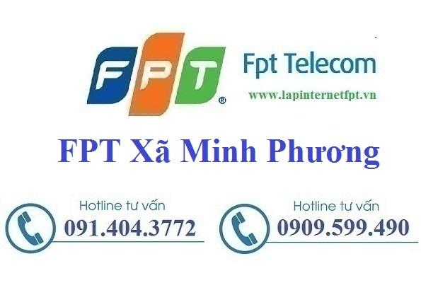Đăng Ký Cáp Quang FPT Xã Minh Phương