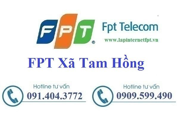 Đăng Ký Cáp Quang FPT Xã Tam Hồng