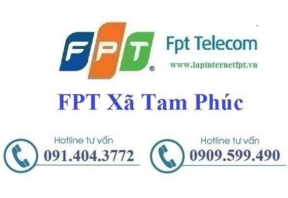 Đăng Ký Cáp Quang FPT Xã Tam Phúc