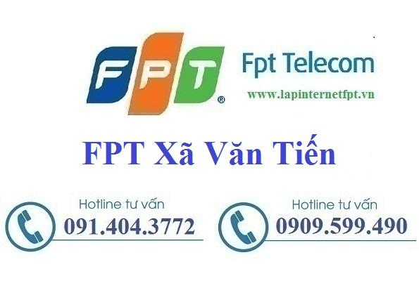 Đăng Ký Cáp Quang FPT Xã Văn Tiến