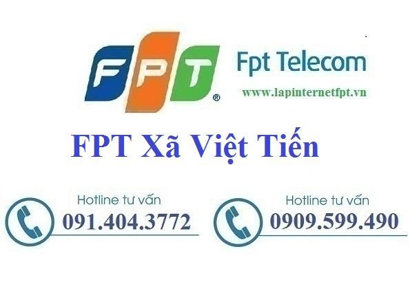 Đăng Ký Cáp Quang FPT Xã Việt Tiến