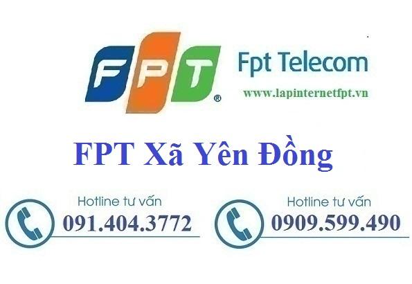 Đăng Ký Cáp Quang FPT Xã Yên Đồng