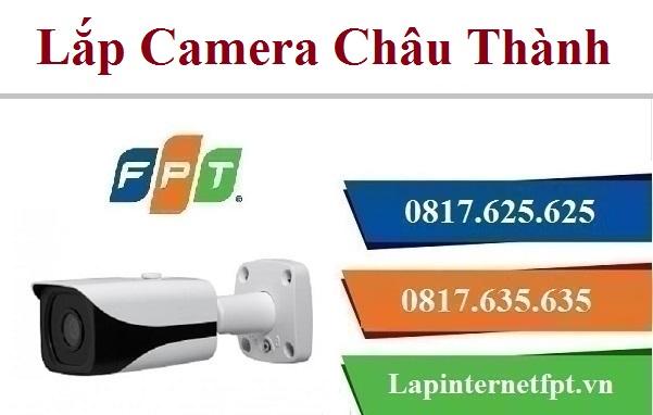 Lắp đặt camera tại huyện Châu Thành