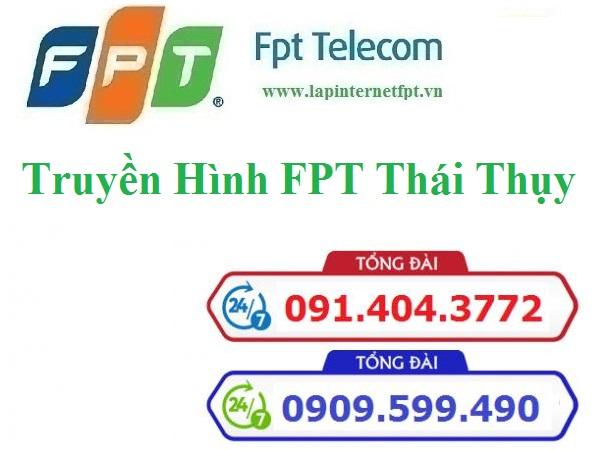 Lắp Đặt Truyền Hình FPT Huyện Thái Thụy Thái Bình