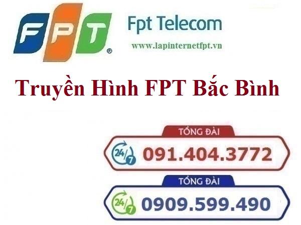 Lắp Đặt Truyền Hình FPT Huyện Bắc Bình Tỉnh Bình Thuận