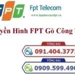 Lắp Đặt Truyền Hình FPT Huyện Gò Công Tây Tỉnh Tiền Giang