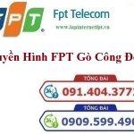 Lắp Đặt Truyền Hình FPT Huyện Gò Công Đông Tỉnh Tiền Giang