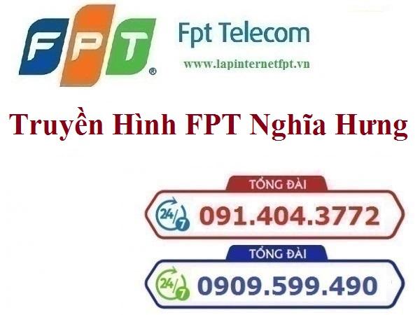 Lắp Đặt Truyền Hình FPT Huyện Nghĩa Hưng Tỉnh Nam Định