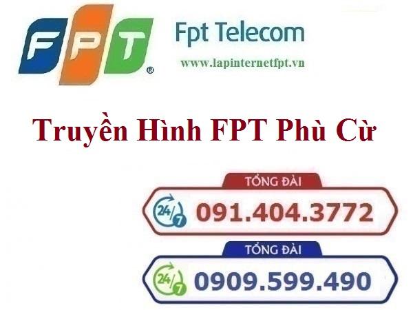 Lắp Đặt Truyền Hình FPT Huyện Phù Cừ Tỉnh Hưng Yên