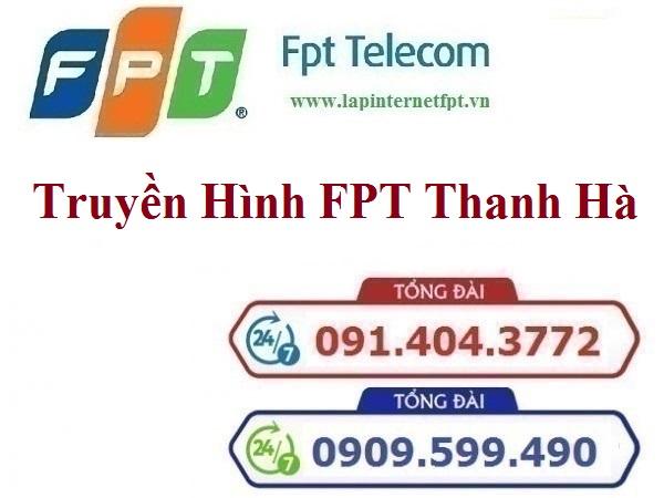 Lắp Đặt Truyền Hình FPT Huyện Thanh Hà Tỉnh Hải Dương