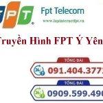 LẮP ĐẶT TRUYỀN HÌNH CÁP FPT Ý YÊN – Chi nhánh Nam Định