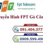 Lắp Đặt Truyền Hình FPT Thị Xã Gò Công Tỉnh Tiền Giang