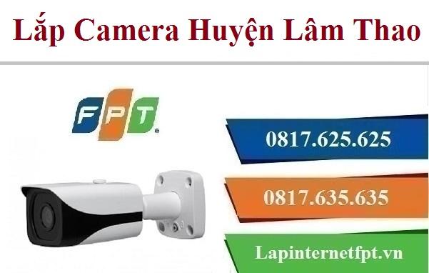 Lắp Đặt Camera FPT Huyện Lâm Thao Quan Sát Chống Trộm
