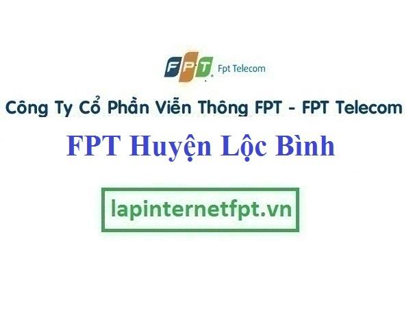 Lắp mạng Fpt huyện Lộc Bình