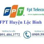 Lắp Đặt Mạng FPT Huyện Lộc Bình Tỉnh Lạng Sơn