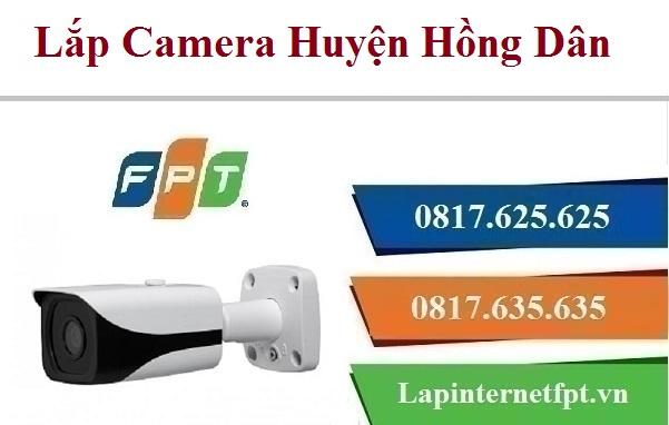 Đăng Ký Camera FPT Huyện Hồng Dân