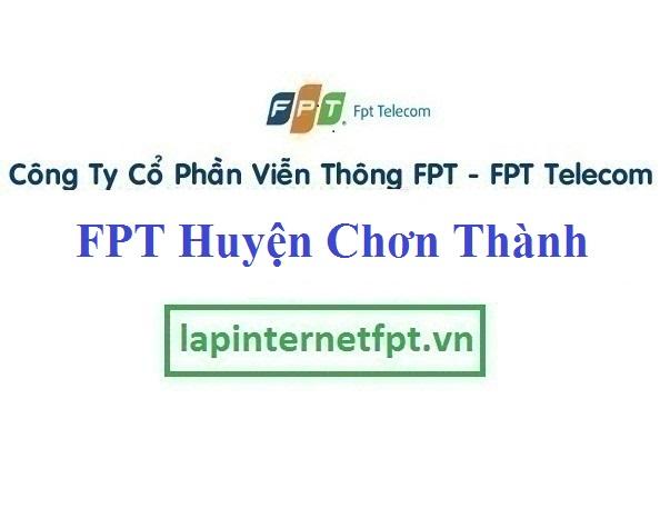 Lắp Đặt Internet FPT Huyện Chơn Thành Bình Phước