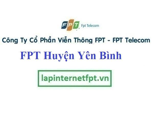 lắp mạng Fpt huyện Yên Bình