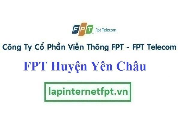 Lắp Đặt Mạng FPT Huyện Yên Châu Tỉnh Sơn La